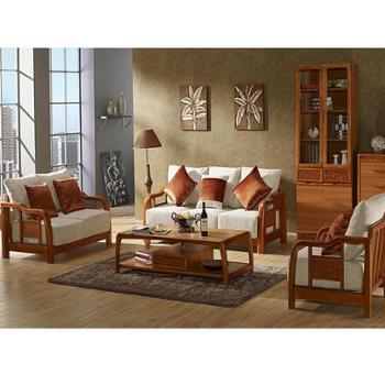 现代中式家具 实木贴皮