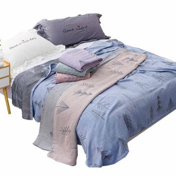 永亮毛巾永亮竹棉双层毛巾被床单8768永亮床单盖毯1.5x2米