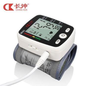 【长坤】电子测家用医用全自动高精准老人手腕式量测血压计CK-W355