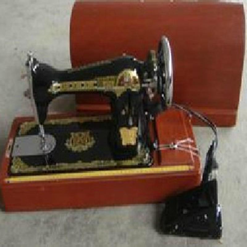 溢泰牌老式家用缝纫机带电动(手提箱+小电机+缝纫机)