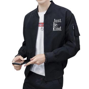 点就青年单衣男土春季休闲外衣潮牌工装外套飞行员夹克男学生褂子上衣DJ-DS321
