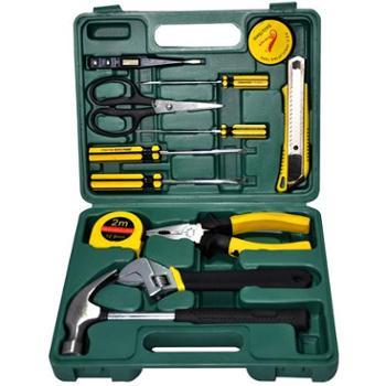 金马工具13件套家用礼品型五金工具组合套装组套工具箱JM--8013A(碳钢)