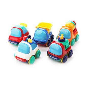 Toyroyal日本皇室玩具婴幼儿健身迷你玩具车 汽车卡车警车消防车