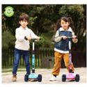 东盈儿童滑板车男女孩3轮溜溜车3-6岁四轮闪光