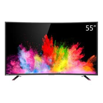 东芝55U6680C55英寸曲面4K超高清64位智能安卓液晶电视