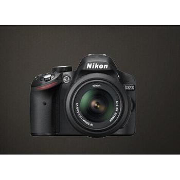 尼康D3200 18-55套机 黑色