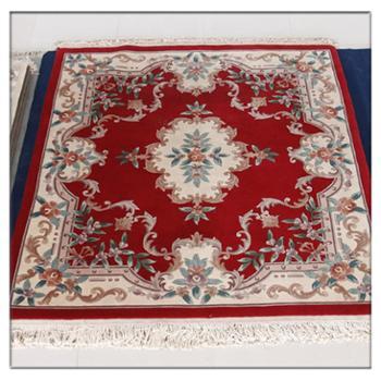 天发 100%纯羊毛手工编织地毯 客厅 卧室 宾馆 定做