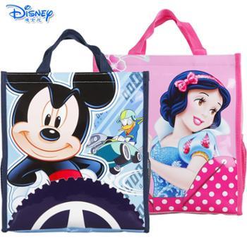 迪士尼 手提袋补习袋米奇米妮卡通便当袋TGMB0201