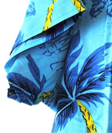 生态椰女装夏装短袖休闲衬衫海南岛服沙滩服三亚旅游情侣亲子装