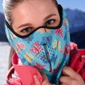 防风透气NKT户外运动面罩 滑雪面罩 骑行雾霾口罩