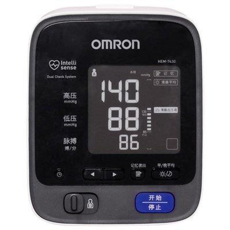 欧姆龙电子血压计hem-7430