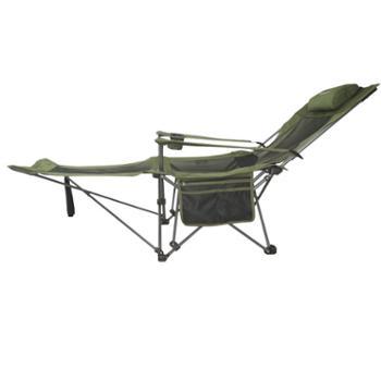 伯顺S6013调节午休椅便携式办公午休午睡折叠躺椅陪护护理单人床自驾露营沙滩阳台休闲座椅
