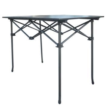 厦门伯顺折叠长铝桌 办公学习便携折叠桌 户外自驾野营烧烤休闲桌 自营品牌