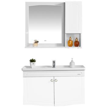 JOMOO九牧卫浴欧式洗脸盆洗手盆卫生间洗面盆柜组合浴室柜组合A2240