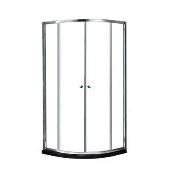 JOMOO九牧整体浴室钢化玻璃淋浴房弧形淋浴房M312/M412