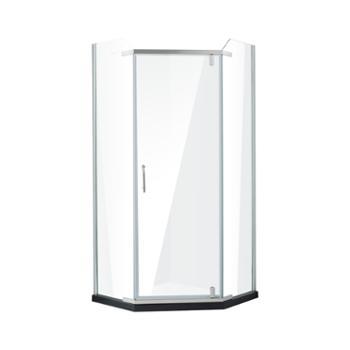 JOMOO九牧整体浴室钢化玻璃淋浴房弧形淋浴房M784