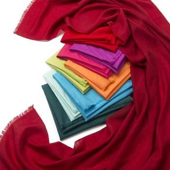 Arrancio韩版纯色纯羊毛围巾新款男女春秋冬季披肩围巾超长