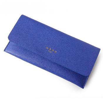 SGPG专柜新品时尚简约潮流真皮长款钱包手拿包