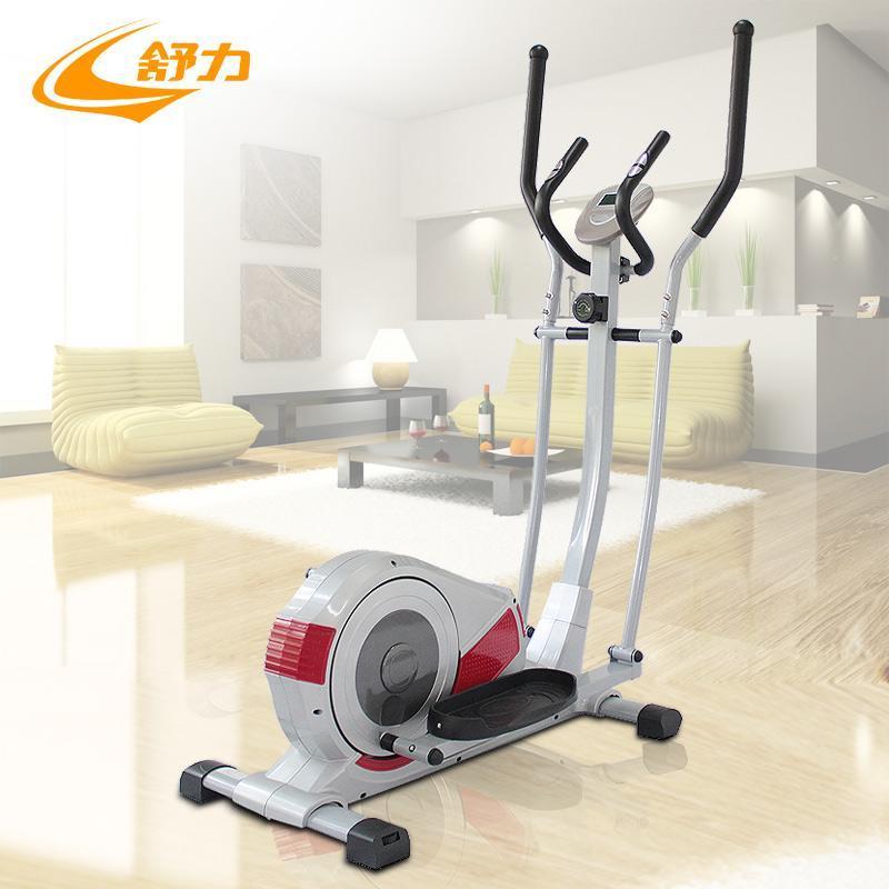 舒力家用用磁控健身车椭圆机太空漫步机 全身运动瘦腰