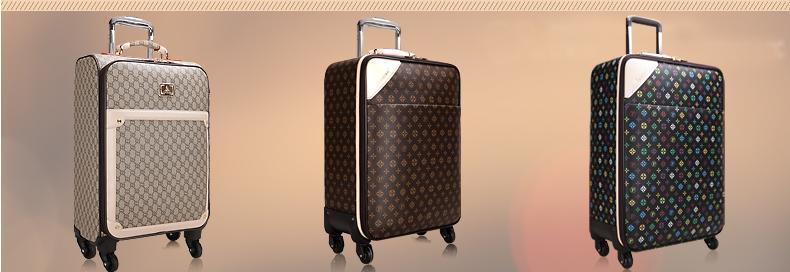珀莉丝拉杆箱万向轮男士女士行李箱旅行箱包邮登机箱