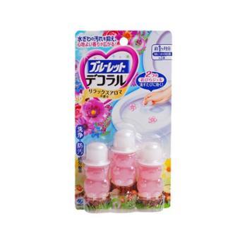 日本小林马桶开花洁厕凝胶香花瓣22.5g