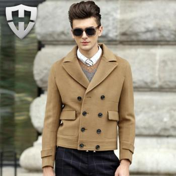 MW轻奢名品秋冬新款纯羊毛呢西服外套
