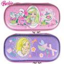 芭比公主小学生儿童文具盒女童笔袋A252438