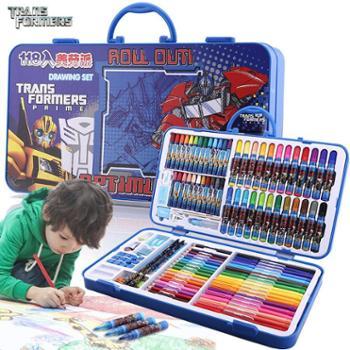 变形金刚小学生彩笔绘画工具套装礼盒T461011