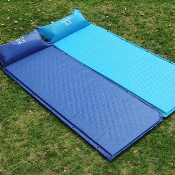 盛源户外带枕自动充气垫可拼接加宽加厚户外帐篷气垫折叠坐垫sy-119-1