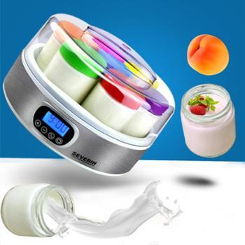 628龙支付 德国进口severin 斯维林酸奶机家用全自动玻璃分杯酸奶机