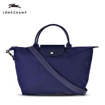 Longchamp厚款尼龙包短柄1515