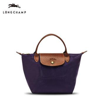 Longchamp尼龙折叠包短柄1621#