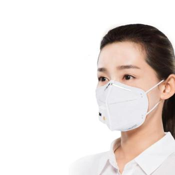 3M口罩 带呼气阀 KN90防雾霾PM2.5 耳带式口罩 9001V 3个/包 3包 9个装