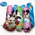 迪士尼 全棉活性 糖果枕 颈椎枕头 保健枕护颈圆枕 修复枕头