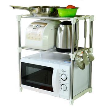 宝优妮整洁厨房微波炉整理架DQ-0826象牙色