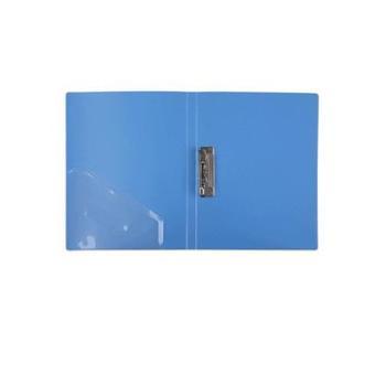 Comix/齐心文件夹AB600AA4强力单夹轻便耐用多色