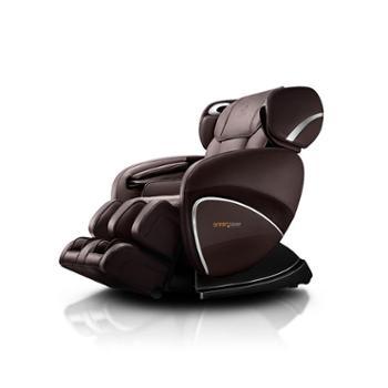 奥佳华大师椅OG-7558c豪华按摩椅3D零重力太空舱多功能家用按摩椅(经典棕)