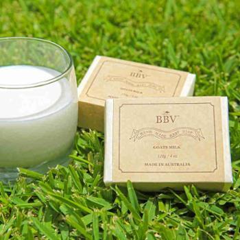 BBV澳大利亚进口天然山羊奶皂120g×2块