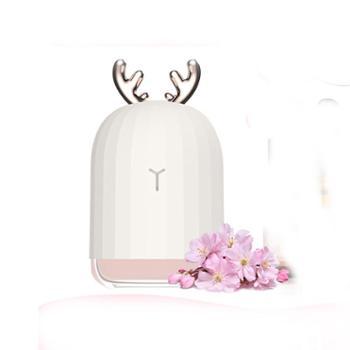 小萌加湿器创意家居USB七彩夜灯迷你便携香薰加湿器小夜灯 不带精油基本款