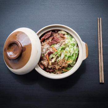 良之筑 陶瓷砂锅煲 土砂锅 750ml L-C061