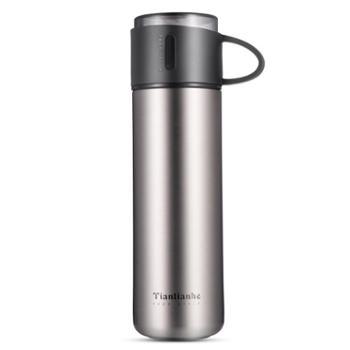 创意保温杯304不锈钢真空水杯新款便携茶杯盖杯子