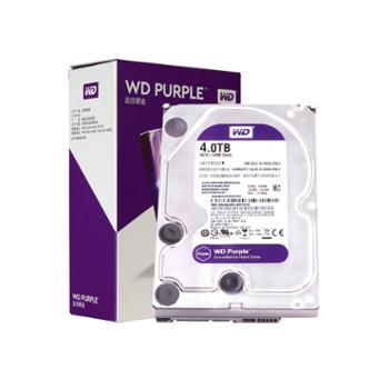 西部数据(WD)紫盘(WD40PURX)4TB 监控硬盘 SATA 3.5 替代型号WD40EJRX