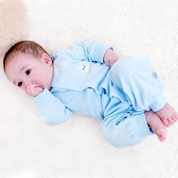 婴儿服装春秋婴儿全棉内衣服男女宝宝哈衣爬服长袖婴儿连体衣纯棉