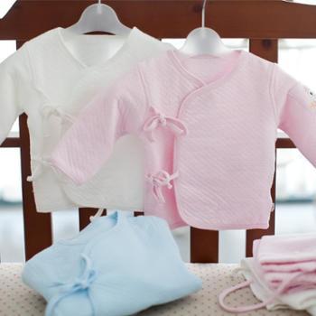 海绵泡泡 初生纯棉和尚服装宝宝加厚睡衣冬装新生婴儿内衣服春秋冬季套装