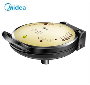 美的(Midea)电饼铛JHN34Q 双面加热悬浮加深多功能电饼铛 家用电烙饼锅煎烤机