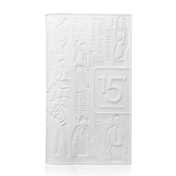 Stylor花色硅胶男士女士创意商务礼品大容量三格银行卡名片收纳包