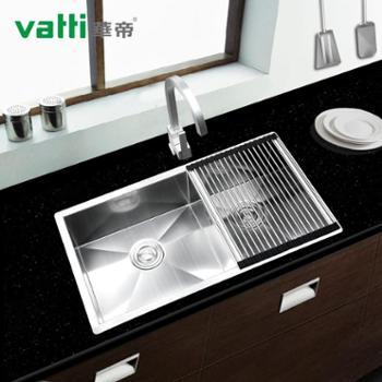 华帝(Vatti)H-A2008(78)-I.D 304不锈钢 水槽套餐 厨房厨盆 双槽洗菜盆 纯手工加厚