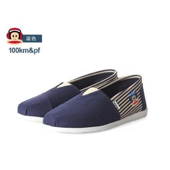 大嘴猴/100KM&PF男帆布鞋低帮懒人鞋休闲鞋单鞋KOT602