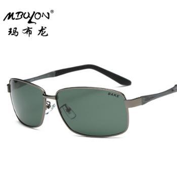 玛布龙偏光太阳镜男士蛤蟆镜户外眼镜太阳眼镜8636