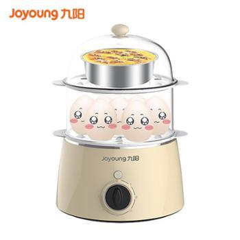 九阳蒸蛋器双层煮蛋器多功能迷你家用煮鸡蛋羹机ZD-7J92
